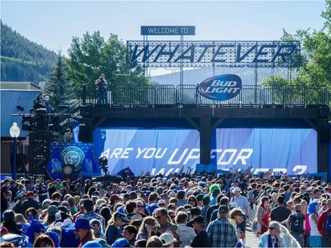 bud light upforwhatever weekend