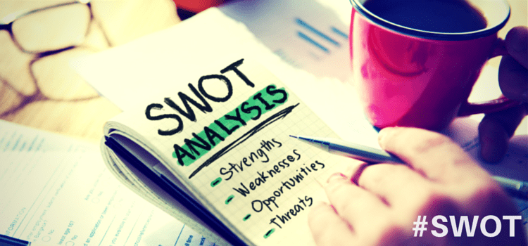 marketing strategy plan startup SWOT