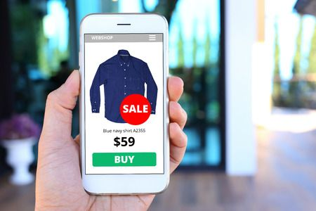 eCommerce Shop through Mobile