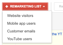 Remarketing Options