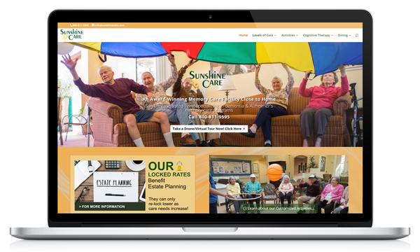 Sunshine Care Website