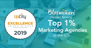 Bloominari in the Top 1% Best Marketing Agencies 2019 in the United States