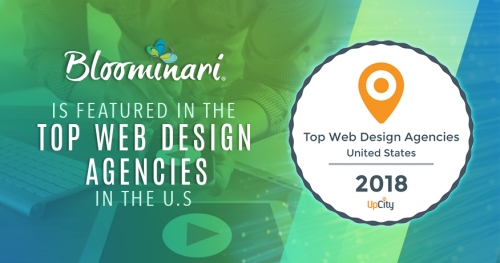 Bloominari in Top 25 Website Design Agencies in the United States