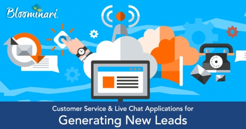 Customer Service & Live Chat Applications for Generating New Leads