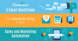 5 Email Workflows You Should Be Using in Your Sales and Marketing Automation