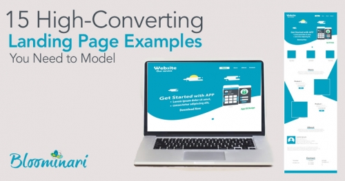 15 High-Converting Landing Page Examples You Need to Model