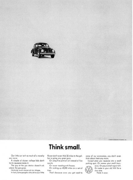 Think Small by VW